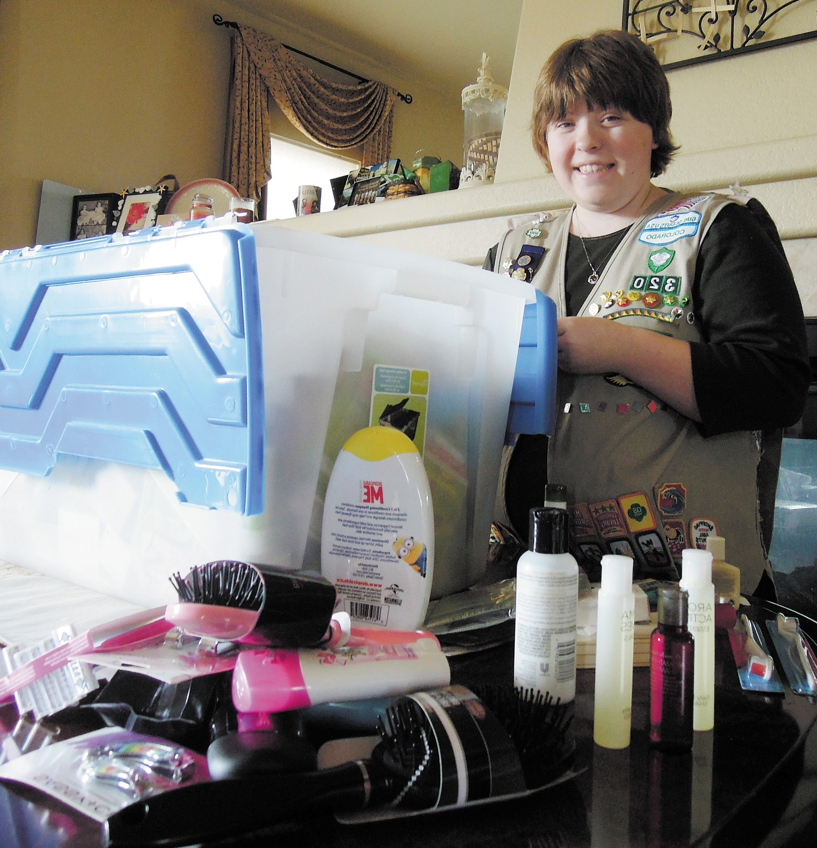 Thornton Teen Earns Gold Award