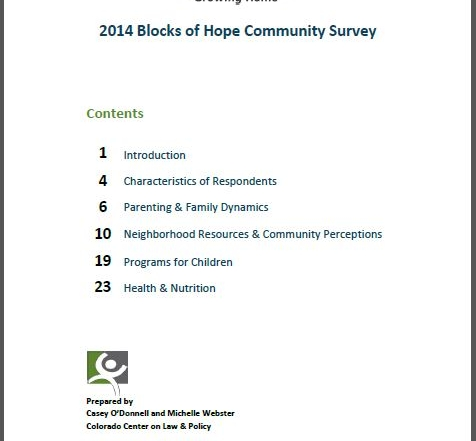 Community Survey 2015