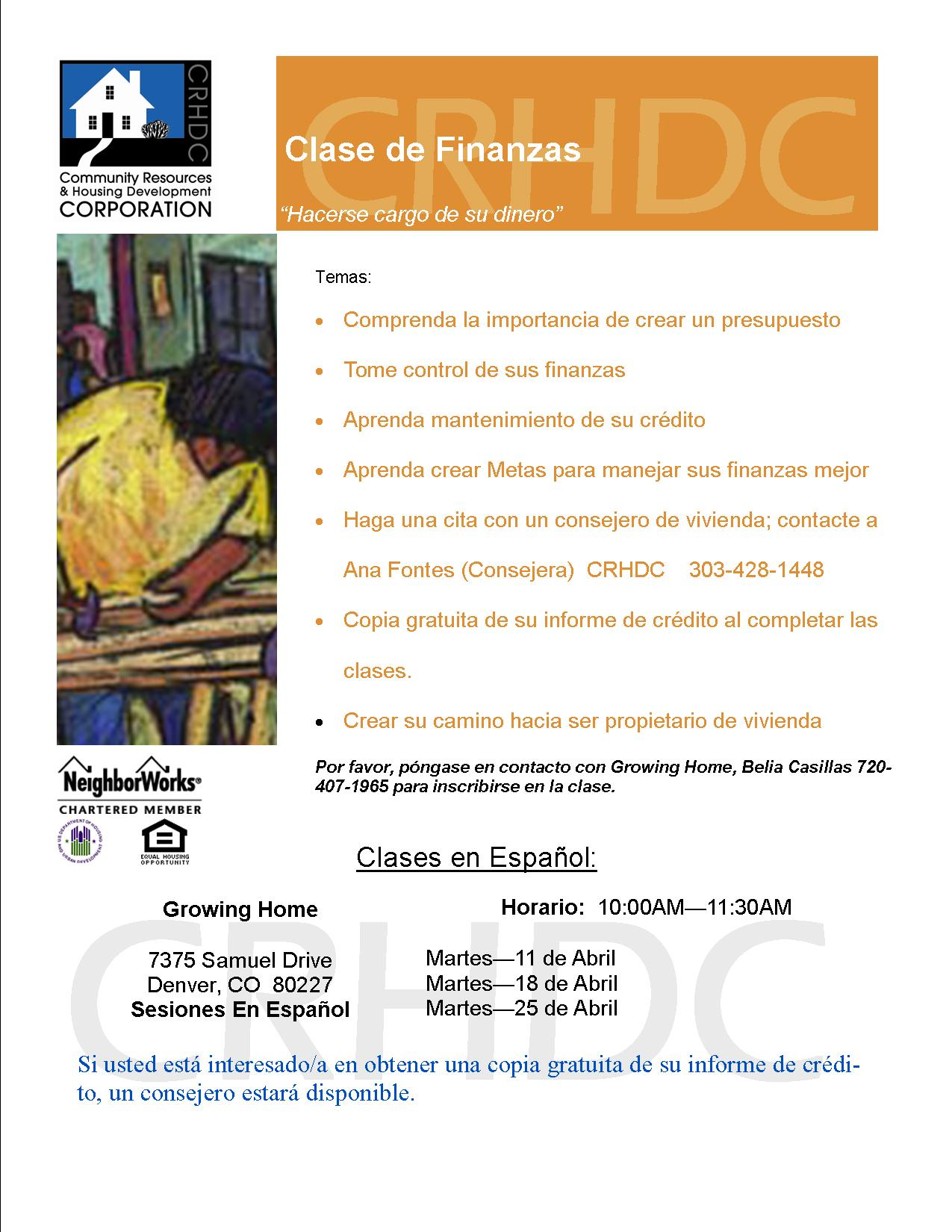 Clase de Finanzas @ Denver | Colorado | United States